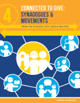 Connected to Give: Synagogues & Movements